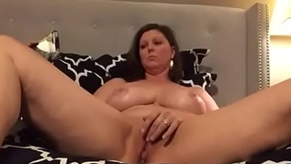 Hot Mom Rubs Clit Watching Lesbian Orgy and Has Multipule Orgasms