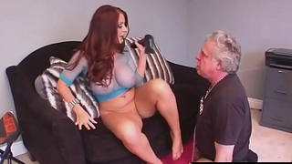 Shove around Brit Beauty Sophie Dee Gets Ass &amp_ Pussy Worshiped!
