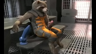Rocket Raccoon Without equal jerk (WITH SOUND)