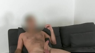 Auditioning blonde analized on casting couch