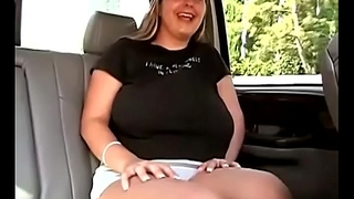 Unpaid with pretentiously natural titties rides a big cock