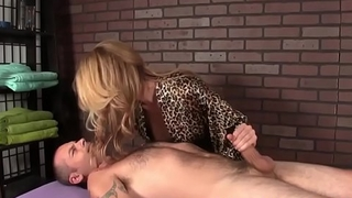 Busty mature ruinedorgasm of say no to client