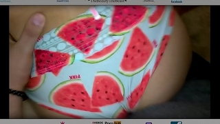 Juicy Watermelon Latina Cuban Ass Thong Fucked On Dining Table