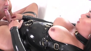 Feetfetish ts rimming her submissive lover