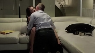 Gia Page is licked and fucked by stepdad