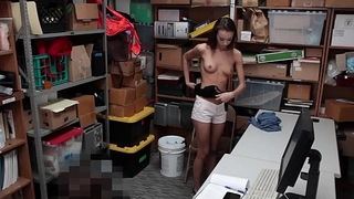 Filching Gals Charity And Zoey Get Dicked