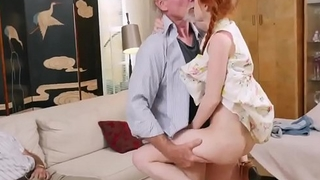 Old mendicant teach young and mom hardcore fuck first time Online Hook-up