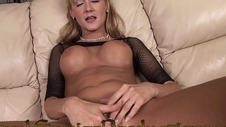 HOT HORNY BLONDE MILF PLAYS Up HER PUSSY
