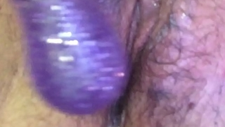 Puristic wet pussy playing horny girl grool