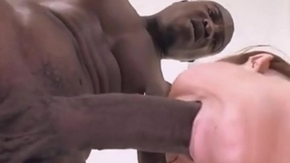 Oral essentially Massive black cock by white girls