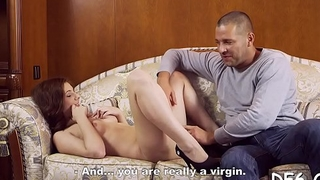 Sexy slut experiences the 1st palpitating dick deep in her ass