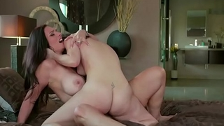 Milf Mindi fucked by horny stepdaughter