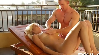 Sultry babe begins groaning from lots for wild orgasms