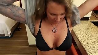 Deep Anal Fucking Amateur Milf gets Two Facials