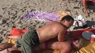 Beach Boobs, Body and Hands Massage (HOT RUSSIAN)