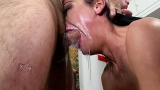 Nataly Gold - Gobble down Falls On Pretty Face